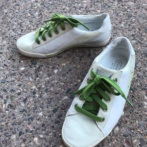 Coach Malli Woman's Leather & Suede Sneakers